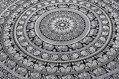 Elephant Throw Mandala Tapestry  Hippie Indian Bohemian Tapestries Wall Hanging