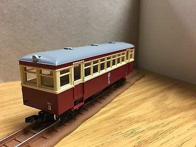 HOe 009 MAROON/CREAM RAILCAR (Powercar Only) - NEW HOn30 NARROW GAUGE