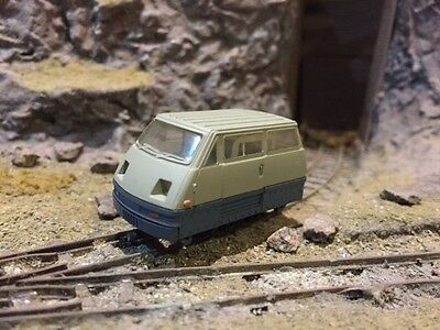 4 WHEEL RAILCAR 009 HOe SCALE (NEW - TEST RUN ONLY)
