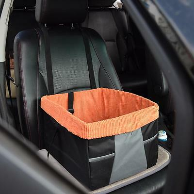 Car Front Seat Dog Cage Pet Comfort Waterloo Travel Carrier Booster Dog Seat *
