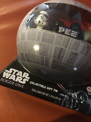 Star Wars Rogue One PEZ Collectible Tin Can With 4 Characters
