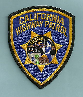 California Highway Patrol Chp Police Patch