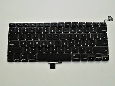 Tastatur für Apple MacBook 13.3 A1278 QWERTY Schwarz Late 2008
