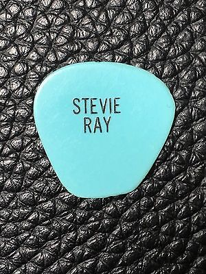 STEVIE RAY VAUGHAN - REAL 1981 STAGE USED TOUR GUITAR PICK -His 1st Custom Pick!
