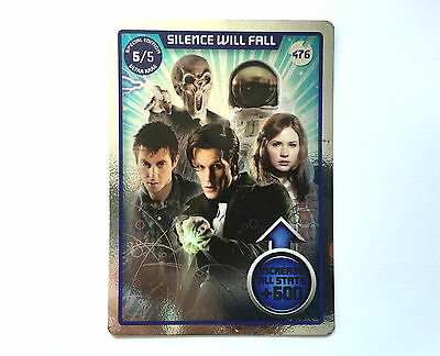 Doctor Who Monster Invasion Ultimate Card- Silence Will Fall (476)- Ultra Rare