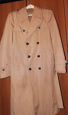TRENCH COAT SOPRABITO UOMO VINTAGE '70s MADE IN ITALY