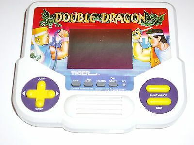 Double Dragon Electronic Tiger Handheld Video Game