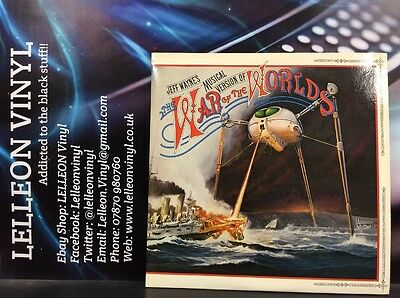The War Of The Worlds Jeff Wayne's Soundtrack LP CBS 96000 Musical +Booklet 70's