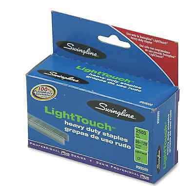 "Swingline LightTouch Heavy-Duty Staples 2,500 ct 5/8"" New"