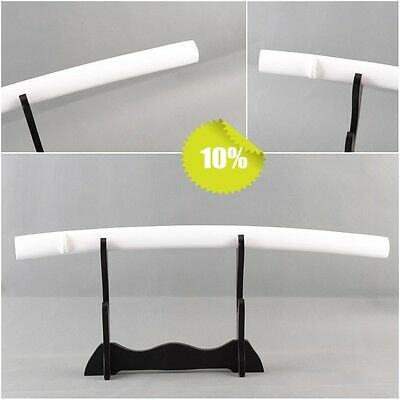 High quality Wood bright white saya scabbard for japanese samurai katana sword