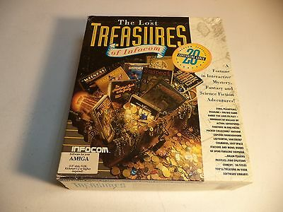 THE LOST TREASURES OF INFOCOM 20 GAMES Commodore Amiga Game by Infocom!!
