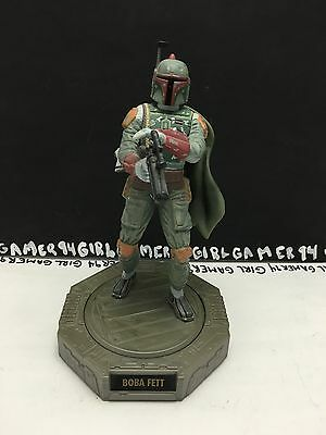 Star Wars 1998 Hasbro Lucasfilm Ltd. Boba Fett Display Figure - Rotates