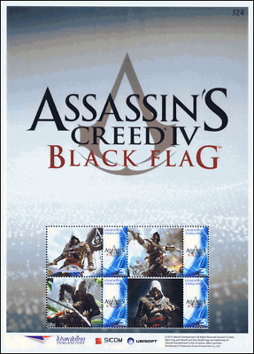 SONDERBOGEN: SICOM / UBISOFT Assassin´s Creed IV - Black Flag -PS(074)- (**)