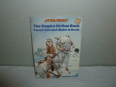 1980 STAR WARS The Empire Strikes Back Punch-Out-Make It Book 1980 Near Complete