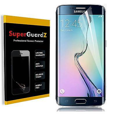 2X Clear FULL COVER Screen Protector Guard For Samsung Galaxy S6 Edge & LED Pen