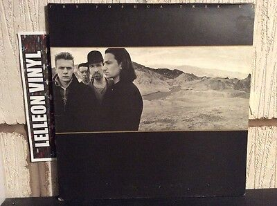 U2 Joshua Tree Gatefold LP Album Vinyl Record U26 Rock 80's Bono Edge
