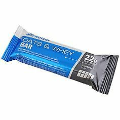 18 Packs of MyProtein Mybar Oats & Whey Choc Chip 80g