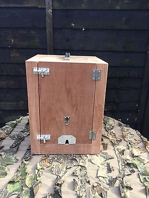 New Falconry Travel Box, Size small - Suitable For Barn Owl, Kestrel Etc