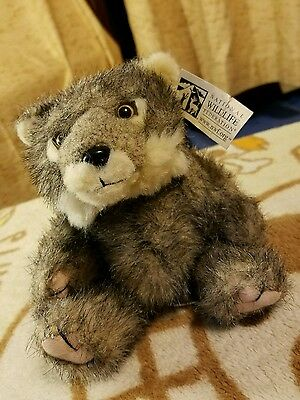 "National Wildlife Federation NWF Approx 6"" Grey Wolf Plush by Steven Smith w/Tag"