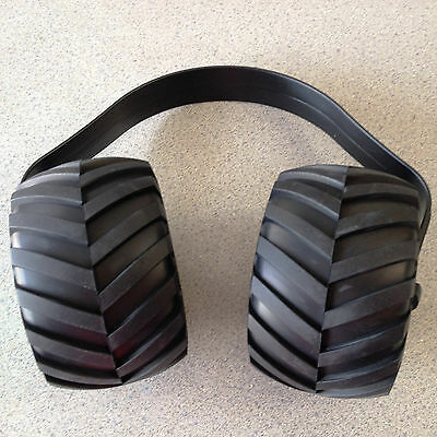 Monster Truck Tire Ear Muffs Hearing Protection Kids Adults RC 3
