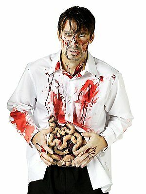 Guts Bloody Intestines Horror Zombie Undead Ghoul Costume Accessory