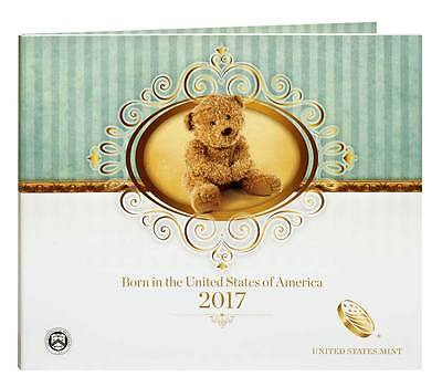 2017 S US MINT BIRTH SET (17RD) BIRTHDAY GIFT 5 COIN PROOF SET Official Issue