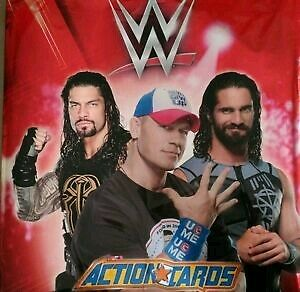 WWE 2016 Pressing Catch wrestling Action cards colección completa panini (180).