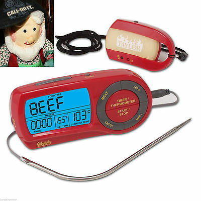 Taylor Weekend Warrior Wireless Grilling Thermometer Remote Pager Timer New