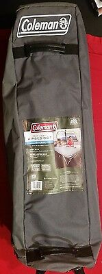NEW Coleman Pack-Away Airbed Cot Queen with 4D Battery Pump Air Mattress Camping