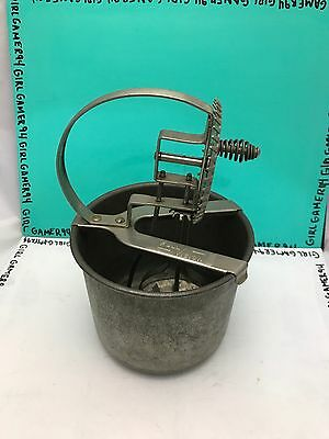 Vintage Full Vision Beater Set Mixer Sauces Egg Beater A & J Made In USA