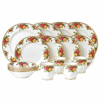 Royal Albert - Old Country Roses Fine Bone China 16pc Dinner Set