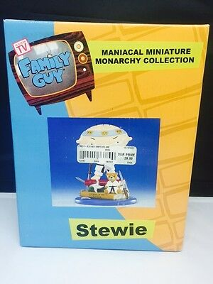Family Guy Stewie Maniacal Miniature Monarchy Collection Figure MISB