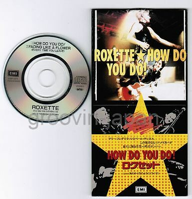 "ROXETTE How Do You Do/Fading Like A Flower(Live) JAPAN 3"" CD TODP-2373 Unsnapped"