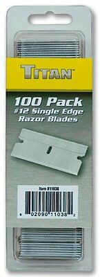 Titan 11038 Single Edge Razor Blades, 100-Piece