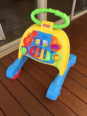 As New Fisher Price Musical Activity Walker.
