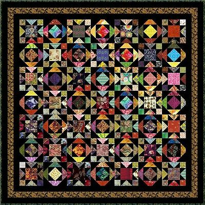 "WATUSI - 69"" - Pre-cut Quilt Kit by Quilt-Addicts Double size"