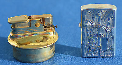 Evans gas automatic lighter & Cleancut Lighter-Dragon Mfg Co. Nice!!     #1204