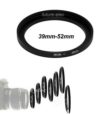New 39mm to 52mm 39-52 Stepping Step Up Ring Adapter Camera Lenses Filter Holder