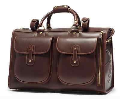 BRAND NEW Ghurka EXPRESS No. 2 Walnut Leather Suitcase Carry On Bag $1995