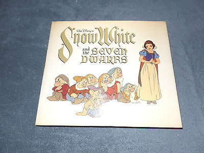 1979 Snow White and the Seven Dwarfs Studio Book of the Animated Feature Film HC