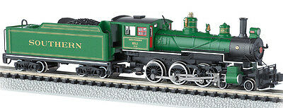 Southern R.R. 4-6-0 Baldwin Steam Locomotive w/Decoder Bachmann #51458 N-Scale