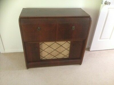 Antique radiogram/gramophone