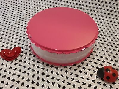 NEW TUPPERWARE ��  CAKE / CUP CAKES / MUFFINS  ��  KEEPER TAKER Server