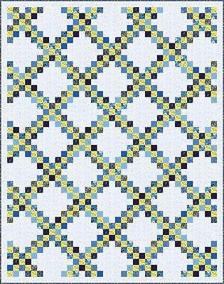 """Summer Breeze IV Quilt Kit  by  Moda  ~  74"""" x 94"""" Finished Top ~ 100% Cotton"""