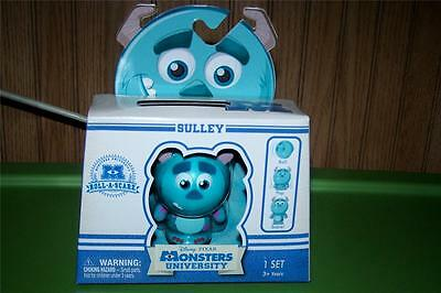Disney Pixar Monsters University Roll A Scare SULLEY Figure & ID Card NEW