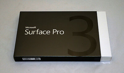 Brand new Microsoft Surface Pro 3 64GB Intel Core i3, 64GB local warranty