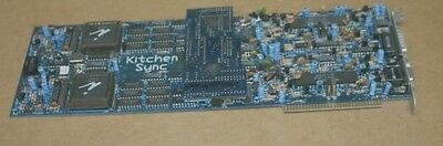 THE kitchen sync TBC TIME BASE CORRECTOR Card for AMIGA Video Toaster OR IBM PC