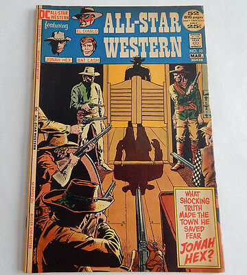 All-Star Western #10 (3/72,DC) First Appearance of Jonah Hex