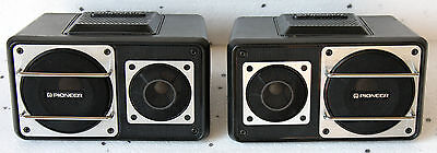 Vintage Pioneer Component Ts-X6 Speakers Youngtimer Car Radio Kex Centrate