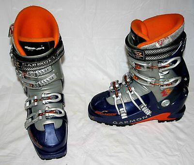 Garmont Megaride AT Alpine Touring Ski Boots G Fit Liner 23.5 (6.5 Women) Rough